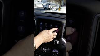 Laurie talking about the All New 2019 GMC Sierra Rearview camera mirror and trailering App