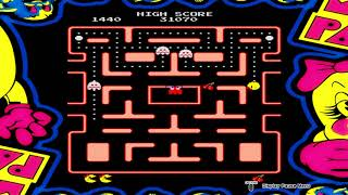 ARCADE GAME SERIES: Ms. PAC-MAN Ps4 Gameplay