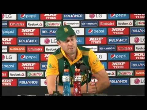 Live Post Match Press Conference South Africa v Pakistan - Auckland