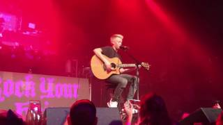 Carson Lueders performing Shape of You