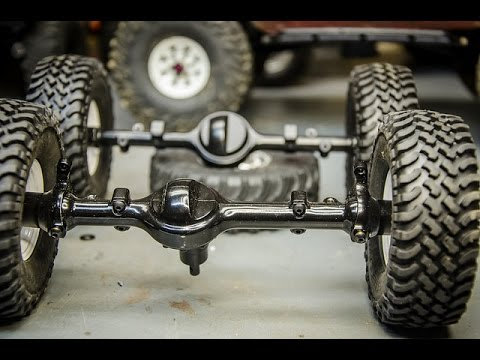 RC4wd Yota1 vs Yota2 axles. Whats the Difference?