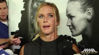 UFC on FOX 20: Holly Holm Open Workout Scrum