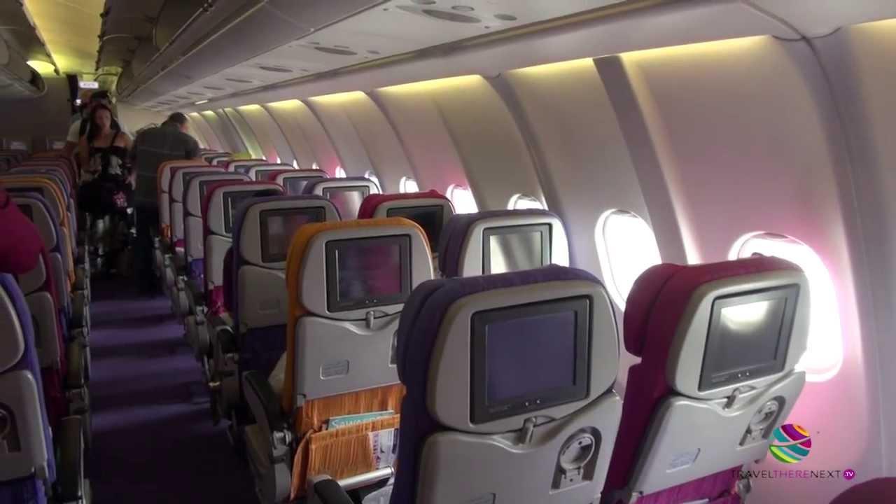 Fly Thai Airways Phuket To Bangkok Airbus A330 300 Youtube