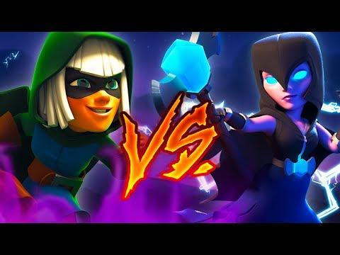 NIGHT WITCH VS. BANDIT!! CLASH ROYALE RAP ft. Kronno Zomber