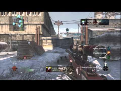 Black Ops Gameplay/Comentario | Sniper 51-18 | Cuarteles en WMD | I3rii