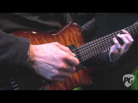 NAMM '12 - Carvin Allan Holdsworth Signature HH2&Steve Vai Legacy 3 Amp Demos