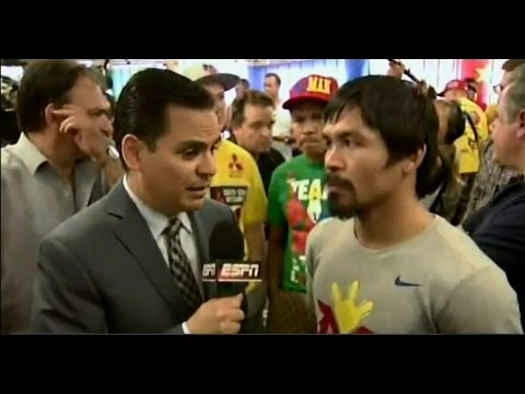 Manny Pacquiao media day: