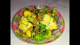 Healthy weight loss Salad/Charred Cauliflower Salad with Homemade Tahini Vinaigrette #Lockdownrecipe