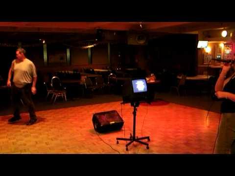 Autism Behavior Karaoke an adult with Autism Cathie Singing