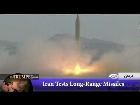 Iran Tests Long-Range Missiles