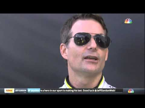 Jeff Gordon Mario Andretti Lewis Hamilton 2015 NASCAR Homesteaad
