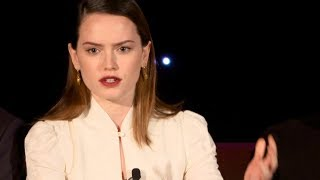 Daisy Ridley & cast talk the role of women in