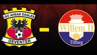 Go Ahead Eagles - Willem II Opkomst in 4K