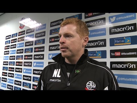 NEIL LENNON | Manager's Brentford reaction