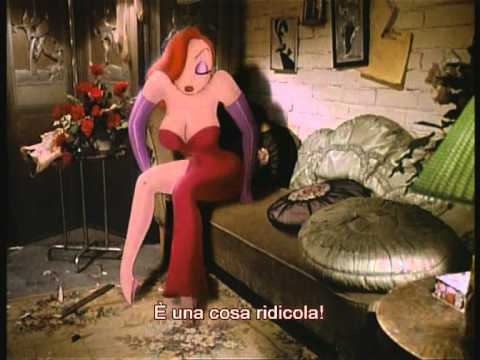 "From the DVD of the movie ""Who framed Roger Rabbit"", the special feature deleted scene ""Pig Head Sequence"" + the introduction of Robert Zemeckis. italian subtitles. Dal DVD del film ""Chi..."