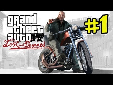 GTA IV - The Lost and Damned Gameplay Walkthrough Part 1 - Johnny (GTA 4 Grand T