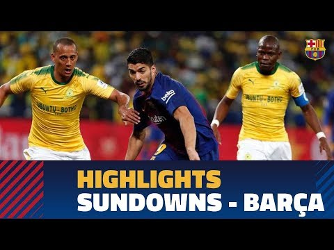 MAMELODI SUNDOWNS 1-3 BARÇA | Highlights