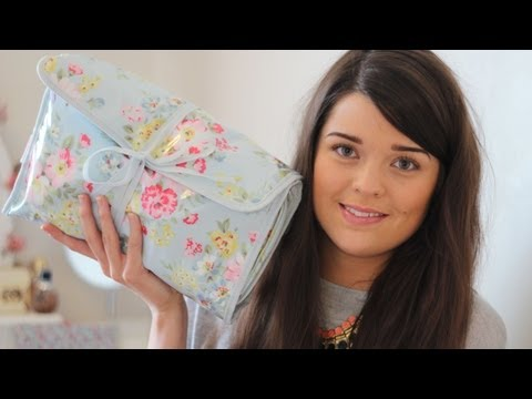 Holiday Beauty: Makeup & Toiletry Bag - Nyári smink