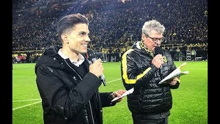Emotional Goodbye |👏 | Marc Bartra Announces Starting XI in Front of the Südtribüne!