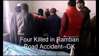 Four Killed in Ramban Road Accident