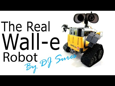 The REAL Wall-E Robot