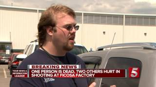 1 Killed, 2 Hurt In Shooting At Cookeville Plant