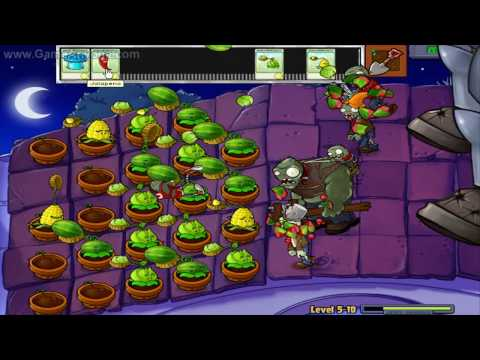 Plants Vs. Zombies HD - Level 5-10 Ending Music Videos