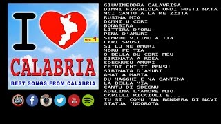 I love Calabria vol.1 - Best songs from Calabria (FULL ALBUM)