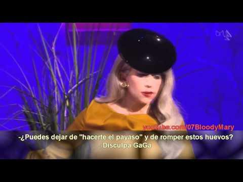 Cooking with Gaga (Sub español) - Cocinando con Lady GaGa
