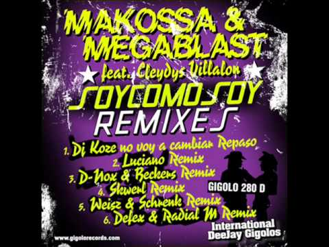 Makossa & Megablast - Soy Como Soy (d-nox & Beckers Remix) video