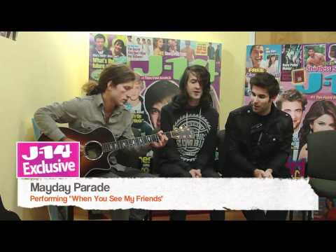 J-14 Exclusive: Mayday Parade performs