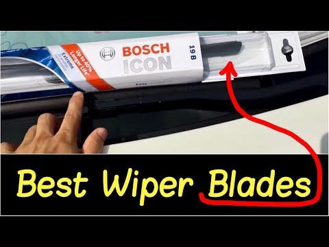 🌦 Best Wiper Blades by Bosch Icon   Wiper Blade Review Installation on a 2013 Nissan 370Z SportCoupe