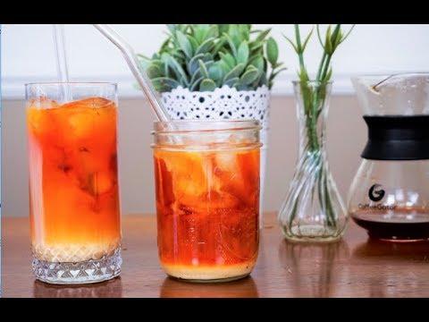 EASY 3 Ingredient Thai ICE Tea Recipe