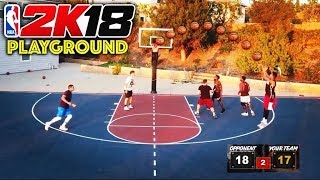 NBA 2K18 PARK IN REAL LIFE!!! (2Hype Edition)