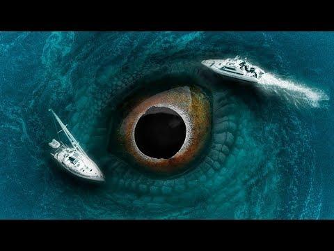 Самые Загадочные и Необычные явления в Океане - ТОП 5 мистических объектов снятых на камеру