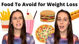 Should You Avoid Certain Foods To Lose Weight?