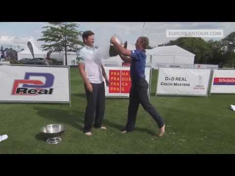 Bernd Wiesberger and Joost Luiten - ALS Ice Bucket Challenge