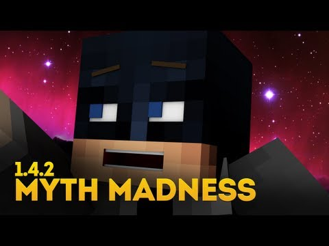 Minecraft Myth Madness: 1.4.2 SPECIAL - Scuba Wither, Bat Fall, Witch-n-Seek, Skelly Protection?