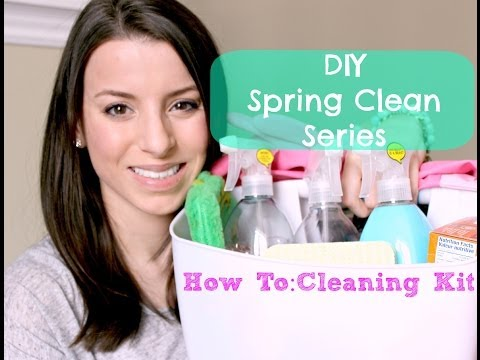 DIY Spring Cleaning Series   Natural Cleaning Supplies. Tips + More!