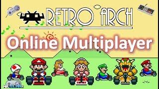 Online Multiplayer Retro Games with RetroArch