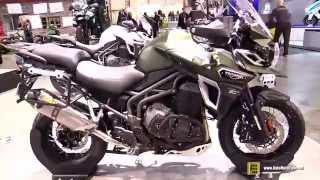 2016 Triumph Tiger Explorer XC A -Walkaround - Debut at 2015 EICMA Milan