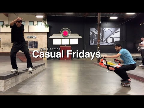 Get A Tour Of The Berrics in 'Casual Fridays' Episode 13