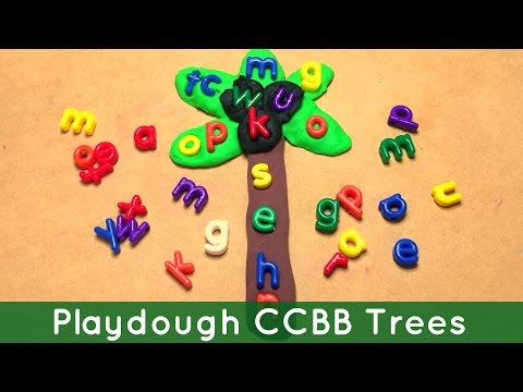 Playdough Chicka Chicka Boom Boom Trees For Preschool And Kindergarten video