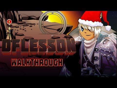 =AQW= /join DFLesson FULL Walkthrough (TheSpan Saga)
