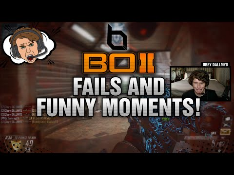 Obey DALLMYD: Message From FaZe Dirty!? (BO2 Fails & Funny Moments)
