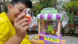 Trò Chơi Máy Gắp ❤ ChiChi ToysReview TV ❤ Đồ Chơi Trẻ Em Baby Crane Machine Toys