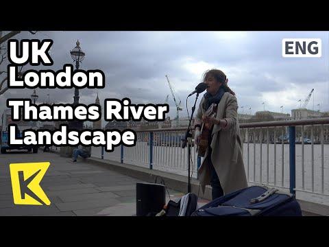【K】UK Travel-London[영국 여행-런던]영국의 상징 템스 강 풍경/Thames River/London Marathon/Shakespeare Globe