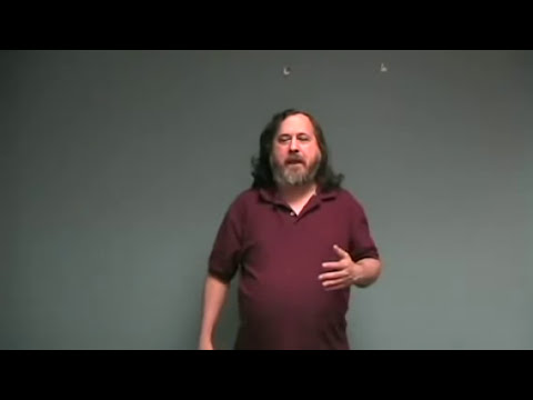 Richard Stallman ¿Que es el Software Libre?