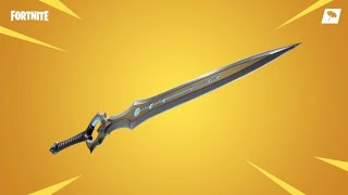 Fortnite 2 Wins I'm a row using the new SWORD