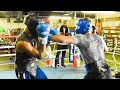 Caleb Plant Sparring Prior To His Aug8 Fight